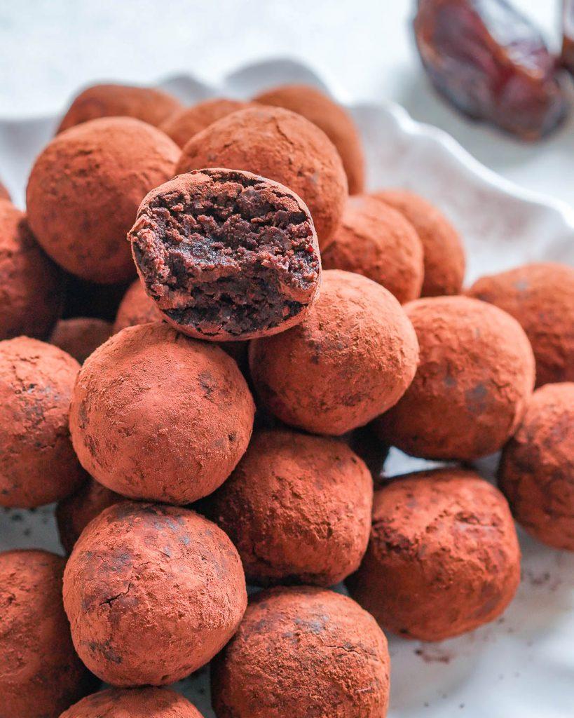 Chocolate Energy Brownie Balls