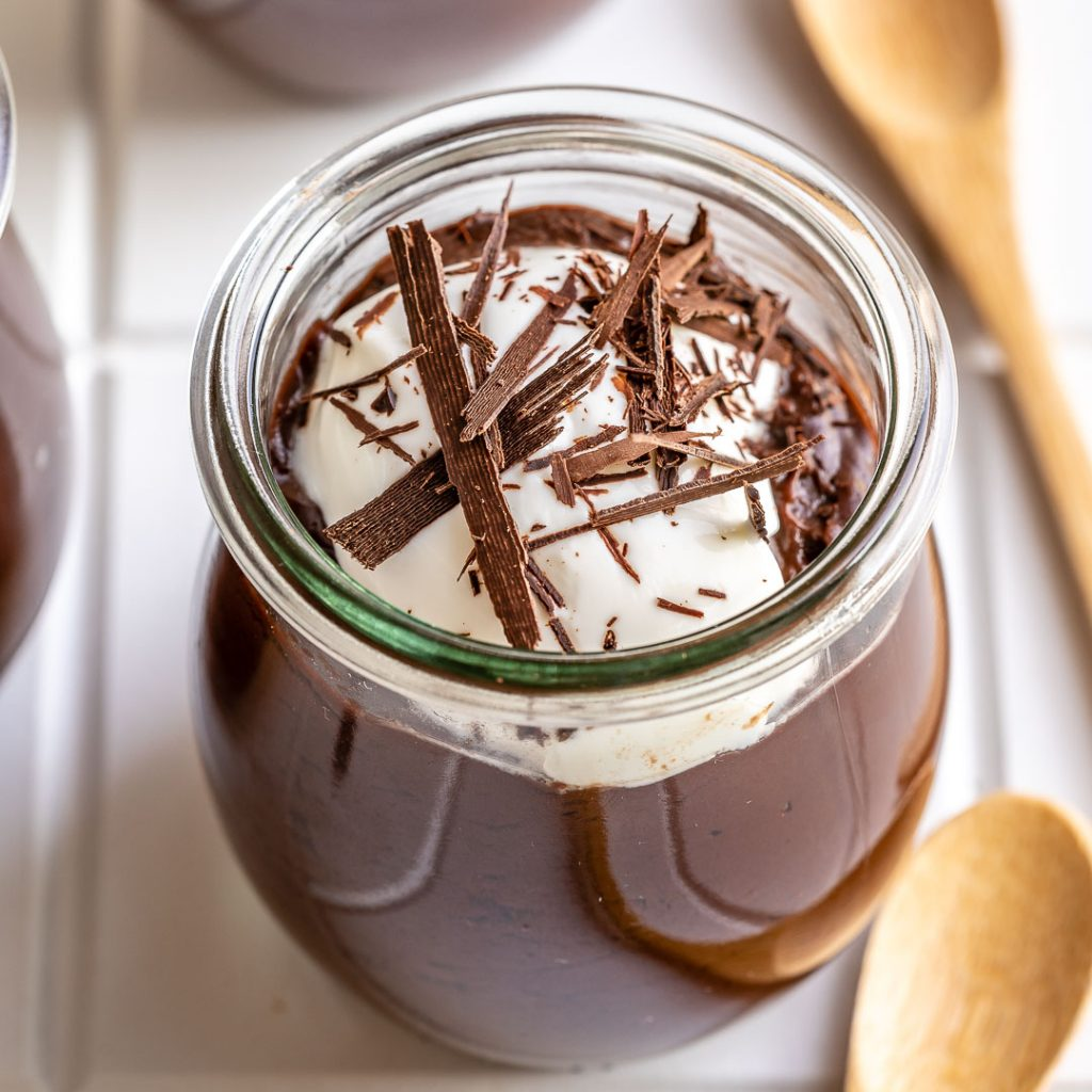 Healthier Chocolate Pudding