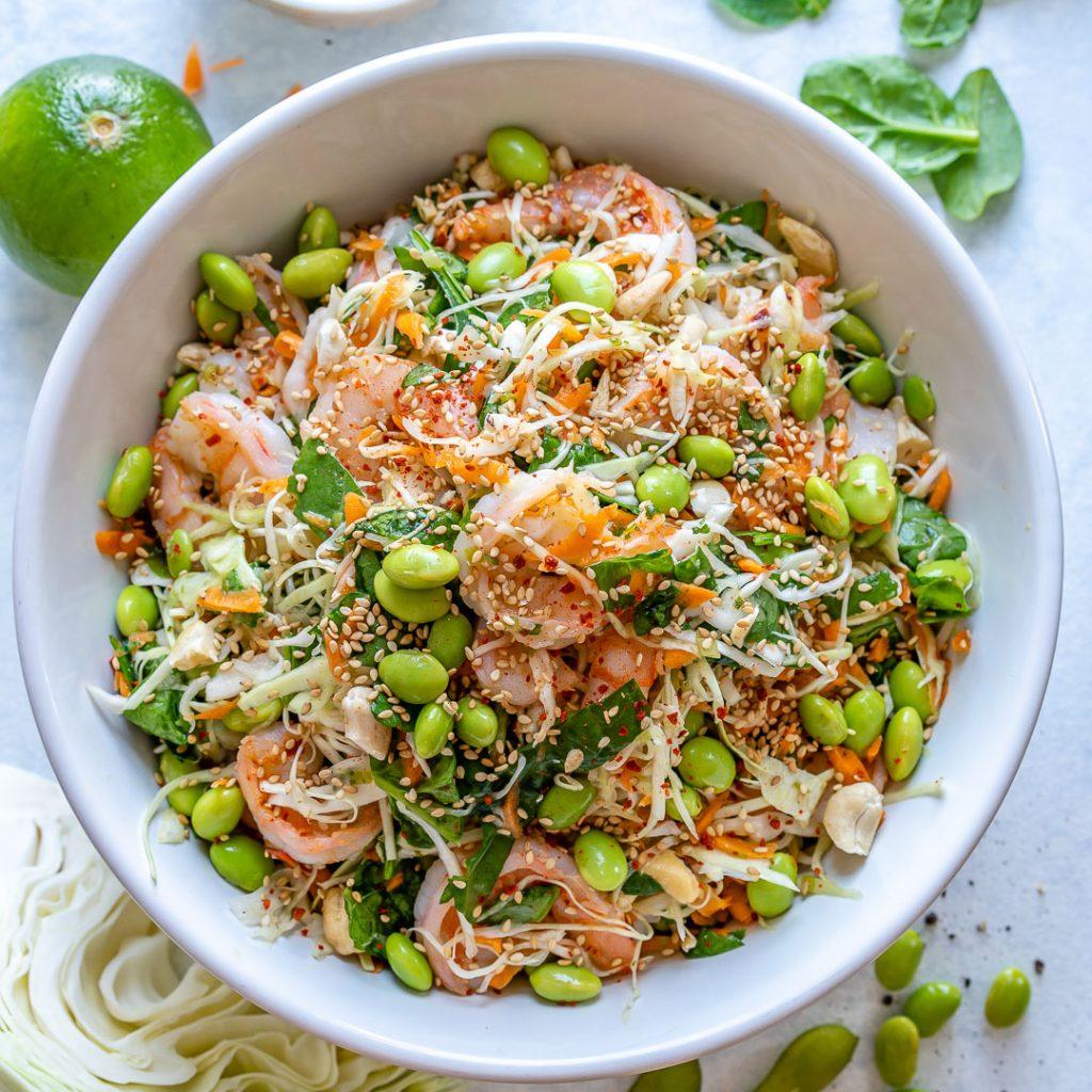 Shrimp Thai ~ Inspired Salad