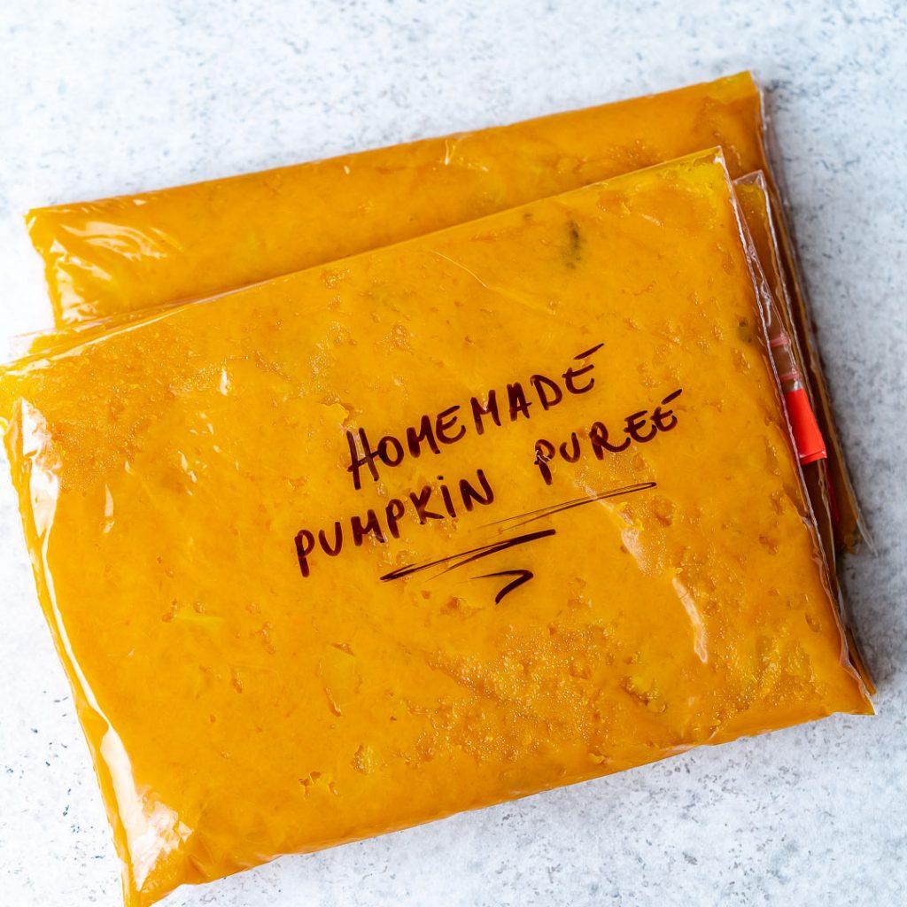 Homemade Pumpkin Puree - One Ingredient