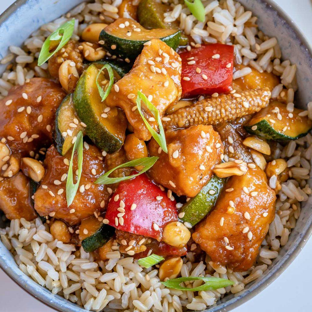 Crockpot Spicy Chinese Chicken