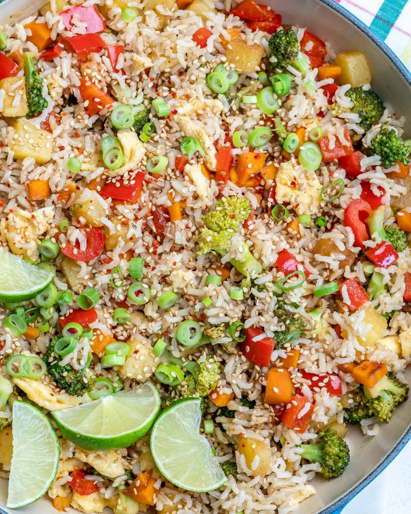Sweet + Savory Hawaiian Fried Rice